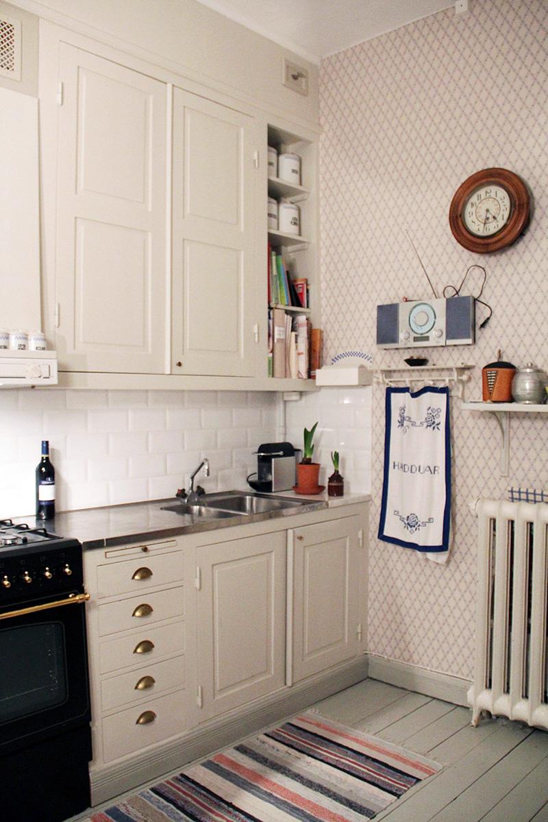 Kök i lägenhet 1 Snickeribyrån