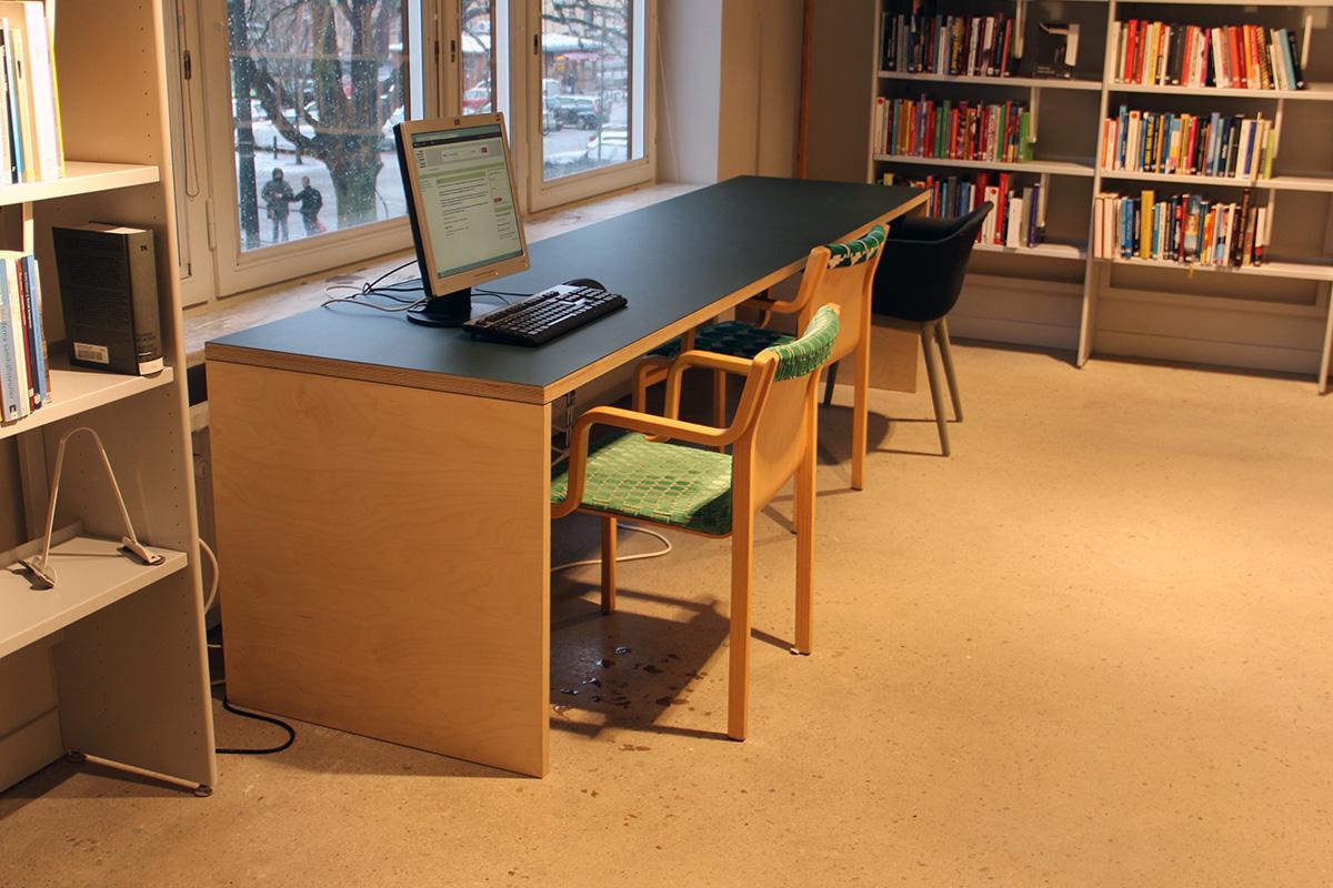Alingsås bibliotek 4 Snickeribyrån