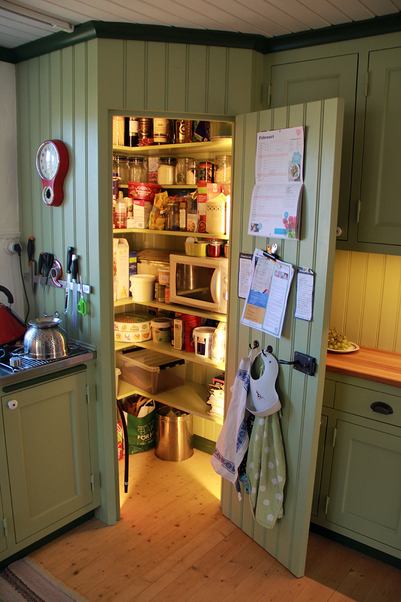 Platsbyggt kök i torp 4 Snickeribyrån