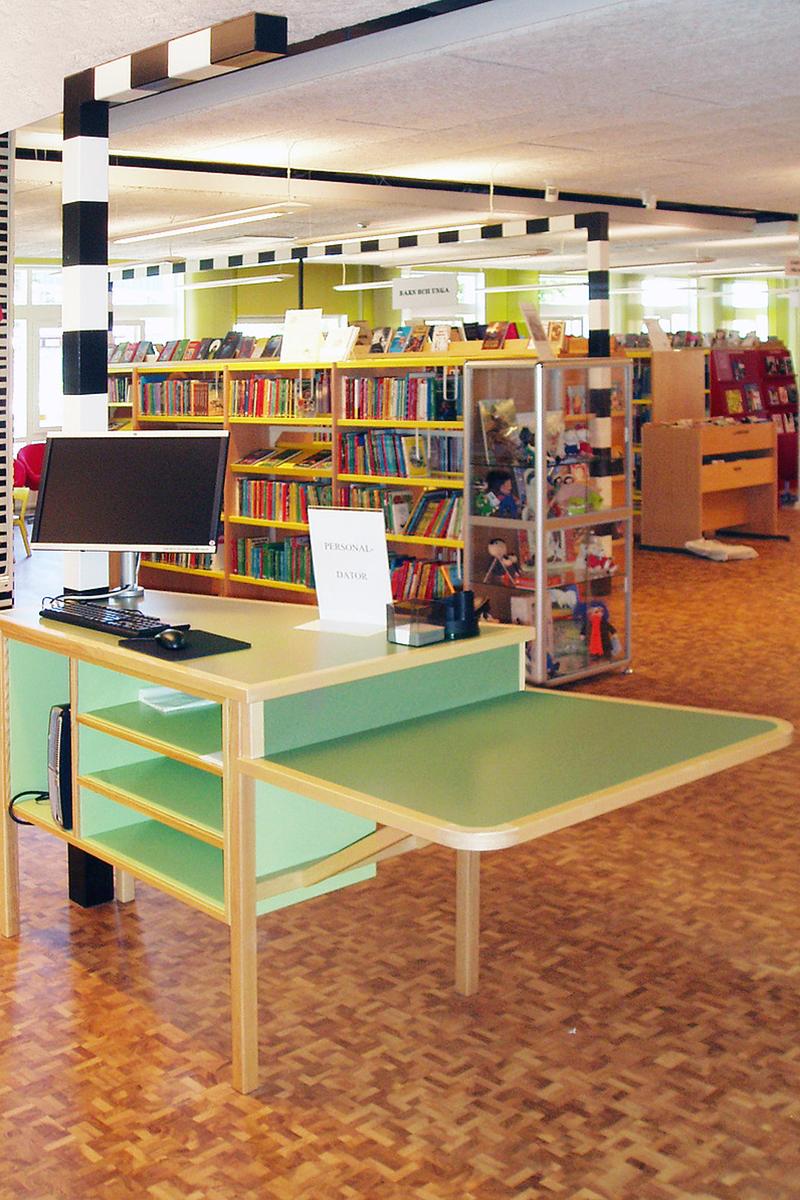 Kinna bibliotek 2 Snickeribyrån