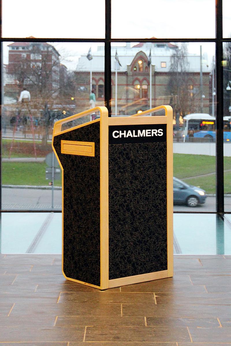 Talarstol Chalmers Göteborg 2 Snickeribyrån