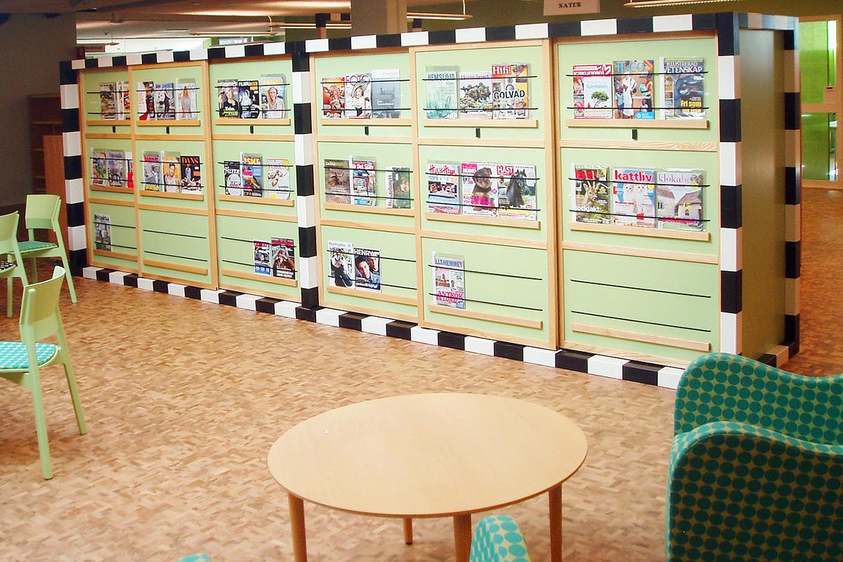 Kinna bibliotek 3 Snickeribyrån