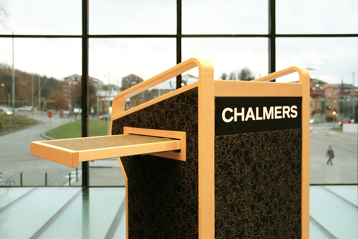 Talarstol Chalmers Göteborg 1